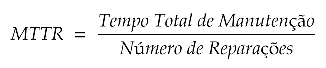Fórmula MTTR