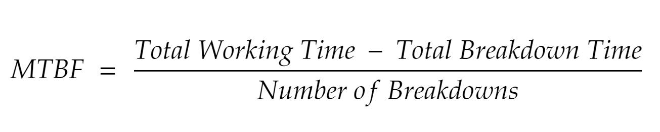 MTBF formula