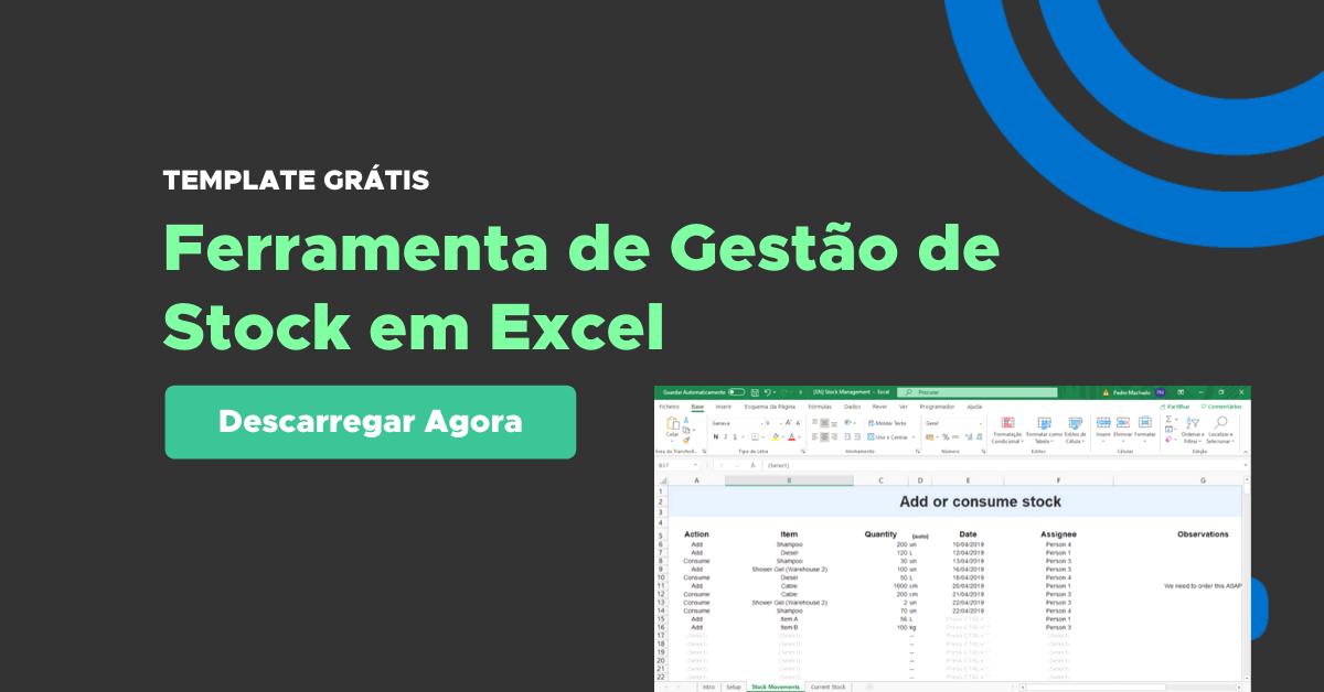 Gestão de Stock Excel