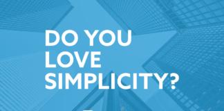 Do you love simplicity?