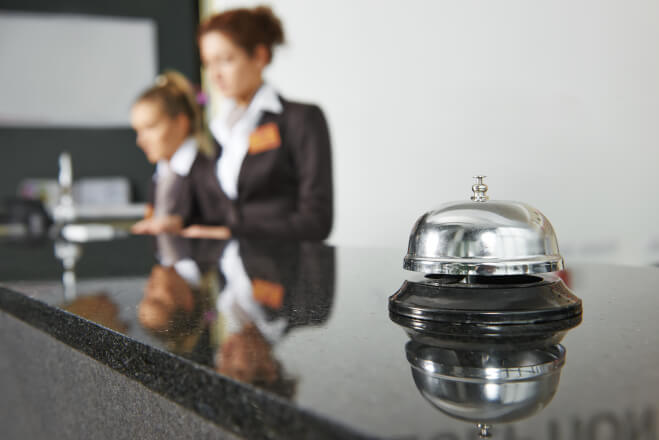 Hotel challenges hospitality