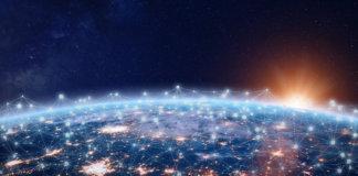 Internet das Coisas e a representação da conectividade em todo o mundo