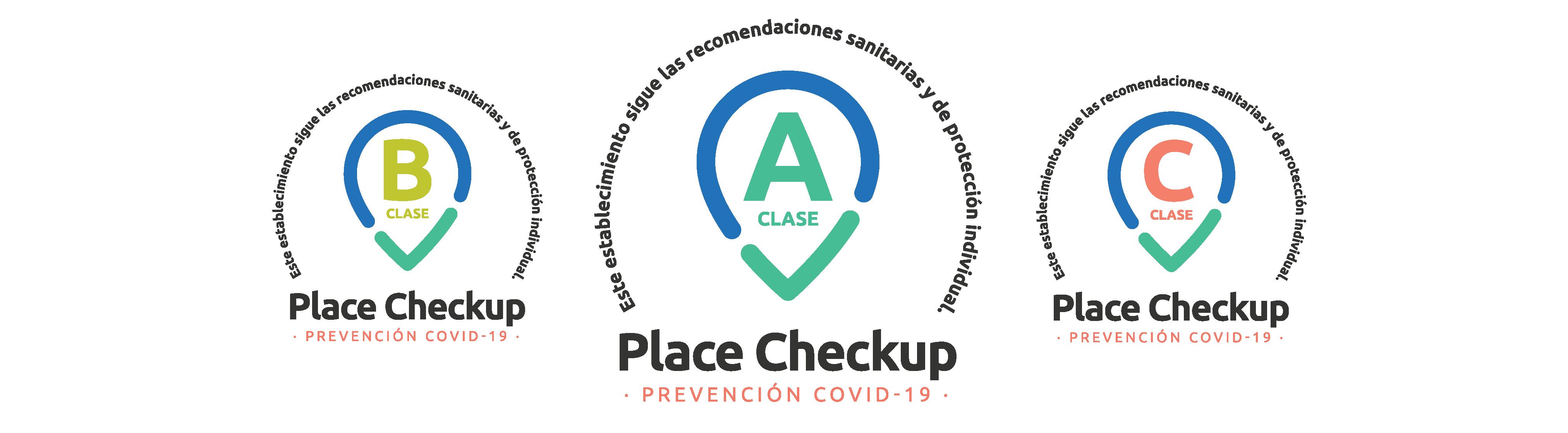 Certificados Clase A, B y C de Place Checkup para Prevención del COVID-19