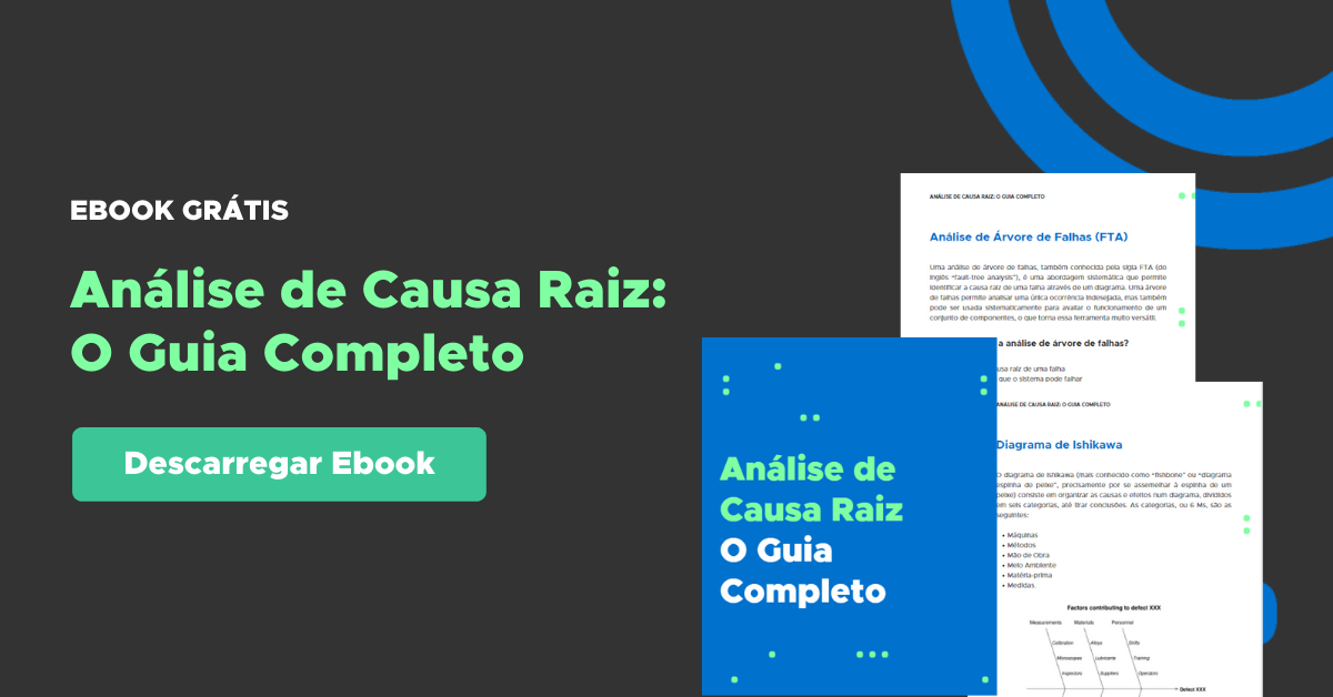 Análise de Causa Raiz Ebook