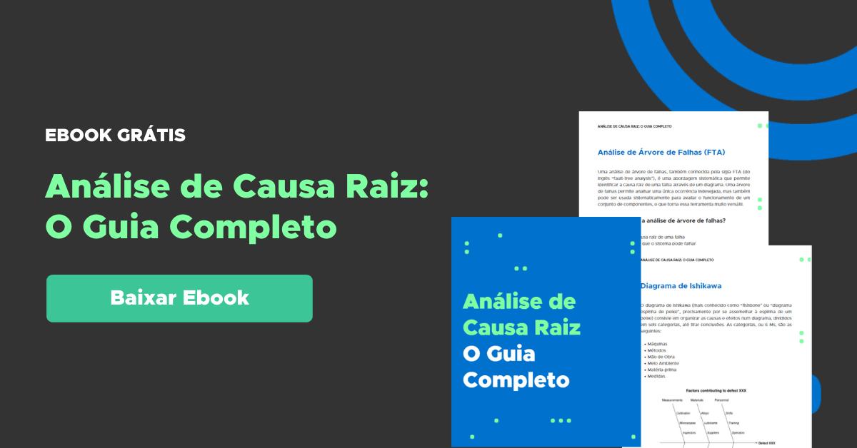 Guia completo de análise de causa raiz