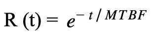 reliability formula