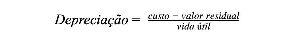 Calcular depreciação