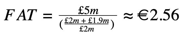 Calculate FAT