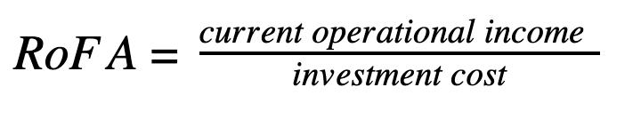 Calculate RoFA