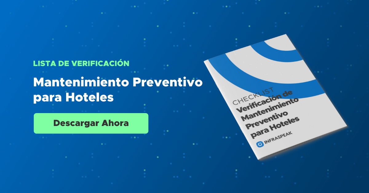 Lista de verificación de mantenimiento preventivo para hoteles